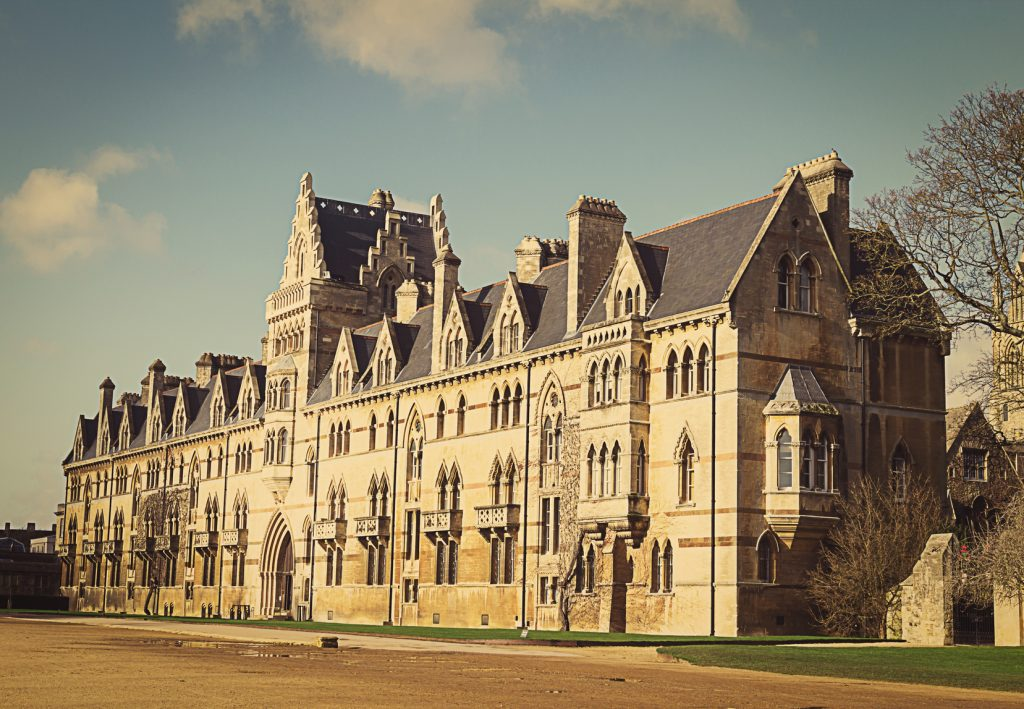 Christ Church College, Oxford, Oxfordshire UK